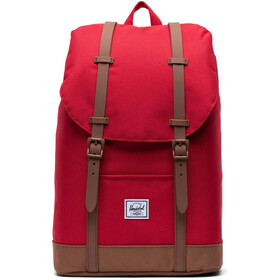 Herschel Retreat Mid-Volume Mochila 14l, red/saddle brown
